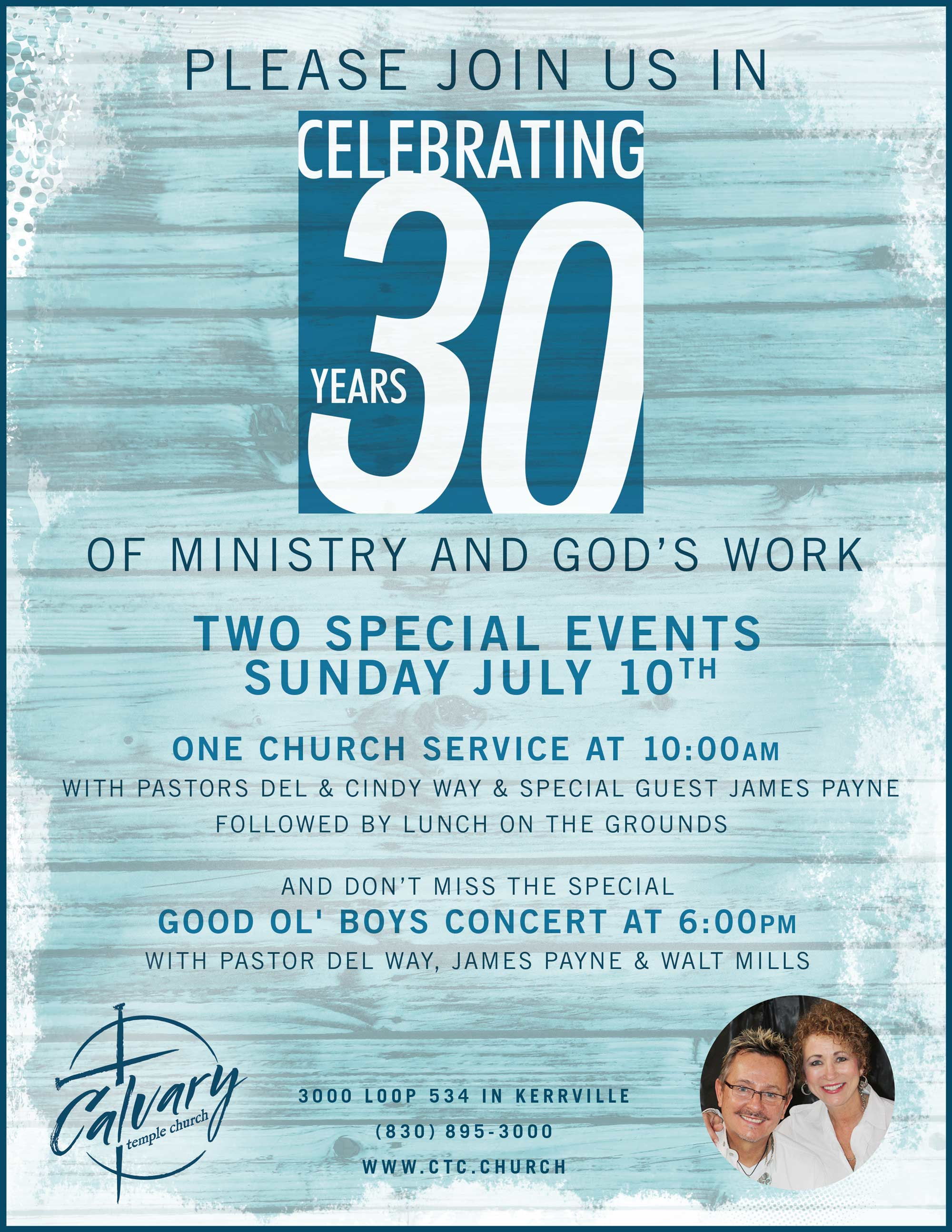 upcoming events 30th anniversary homecoming celebration one